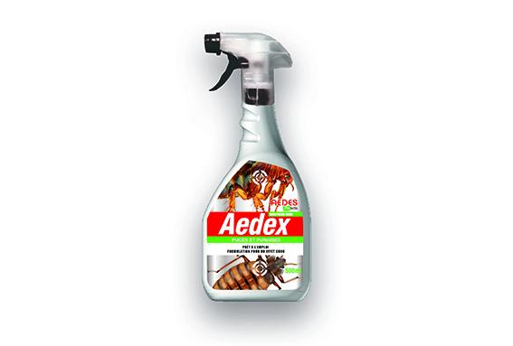 Deratec puce punaise aedex