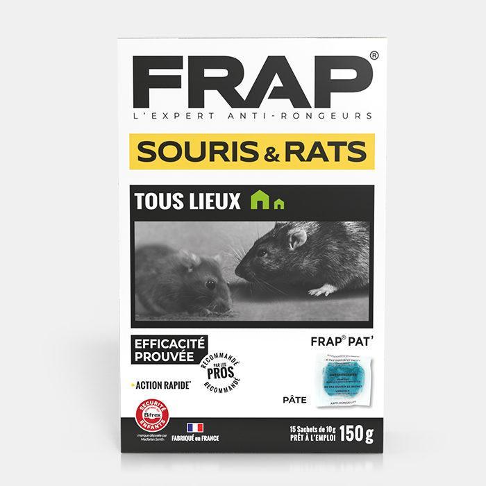 Frap pat souris rats tous lieux