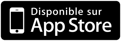 Logo disponible sir app store full image