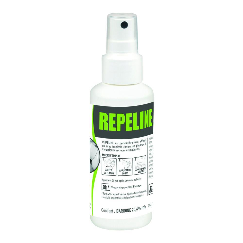Repeline repulsif moustiques spray100ml